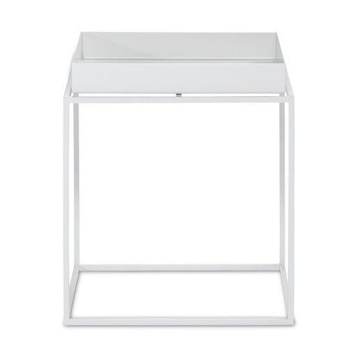 HAY TRAY TABLE - WHITE - SMALL SQUARE - Eclectic Cool  - 1