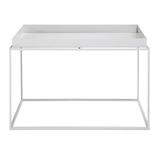 HAY TRAY TABLE - WHITE - SQUARE - Eclectic Cool  - 1