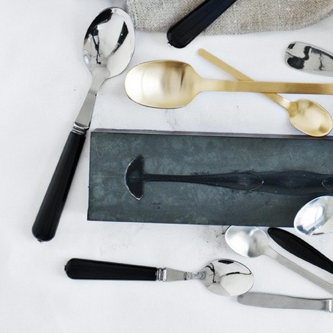 CANVAS EVERYDAY CUTLERY BLACK - Eclectic Cool  - 1