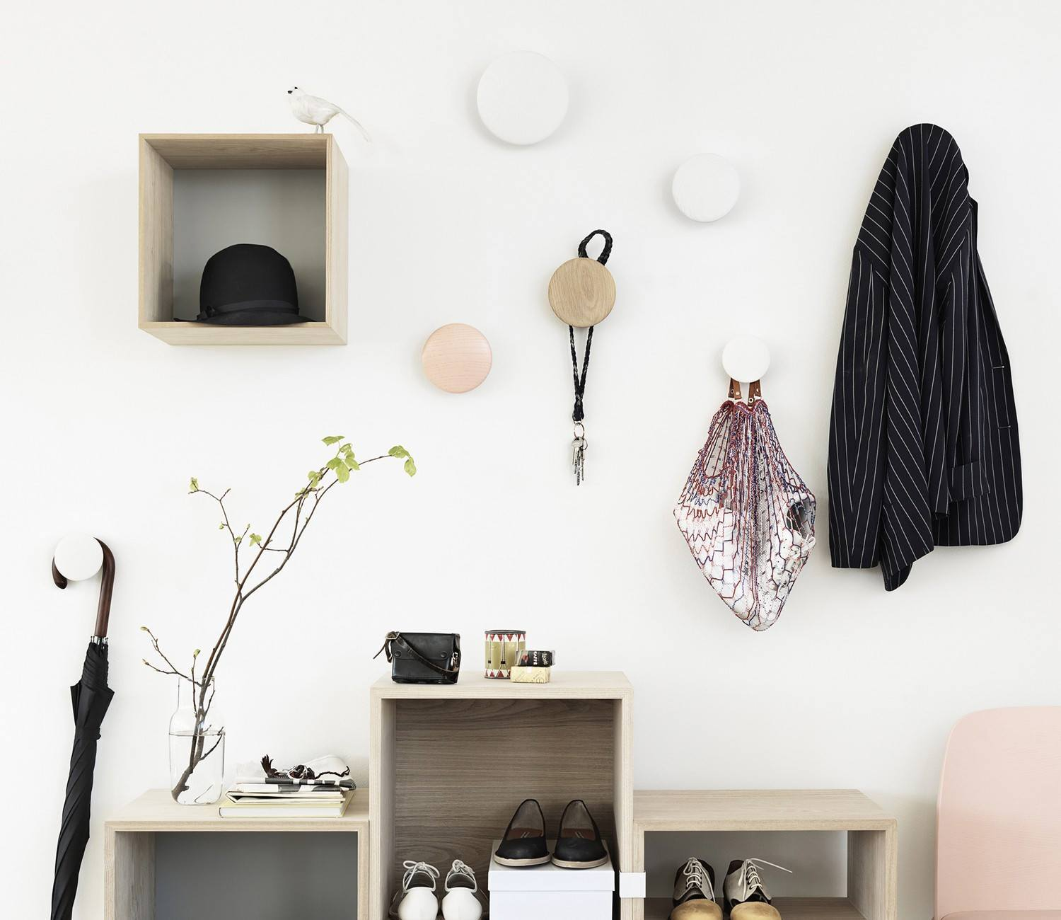 MUUTO The Dots Hooks Set of 5 - - Eclectic Cool  - 3