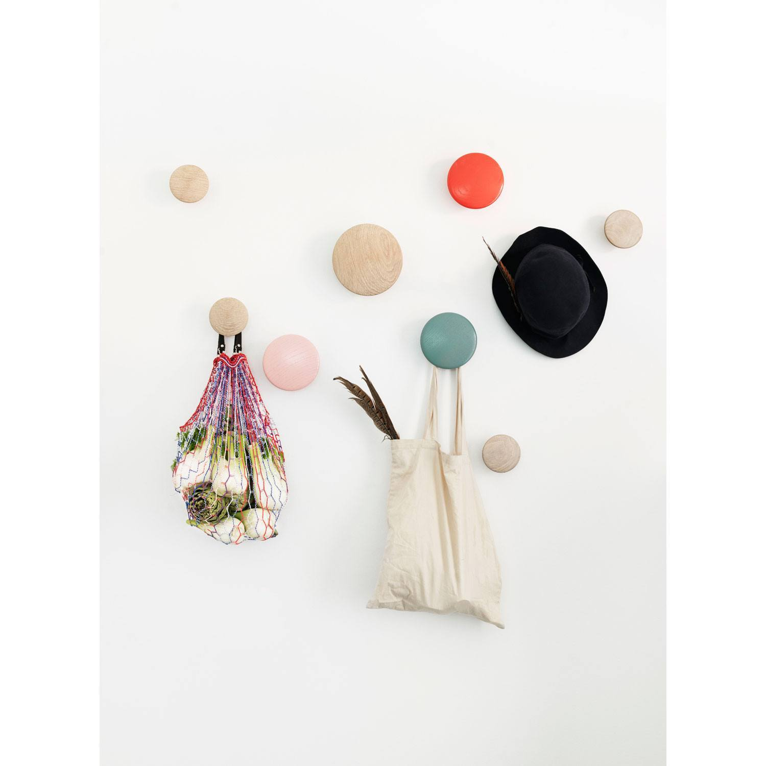 MUUTO The Dots Hooks Set of 5 - - Eclectic Cool  - 4