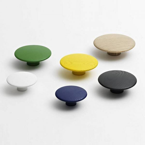 MUUTO The Dots Hooks Set of 5 - - Eclectic Cool  - 5