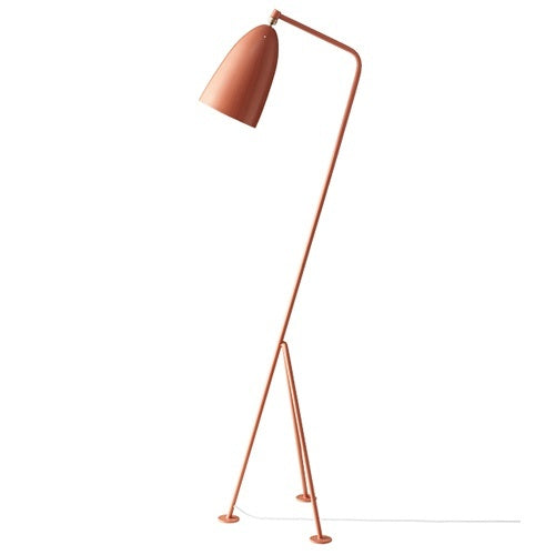 GUBI GRASSHOPPER FLOOR LAMP IN RED BY GRETA GROSSMAN - Eclectic Cool  - 3