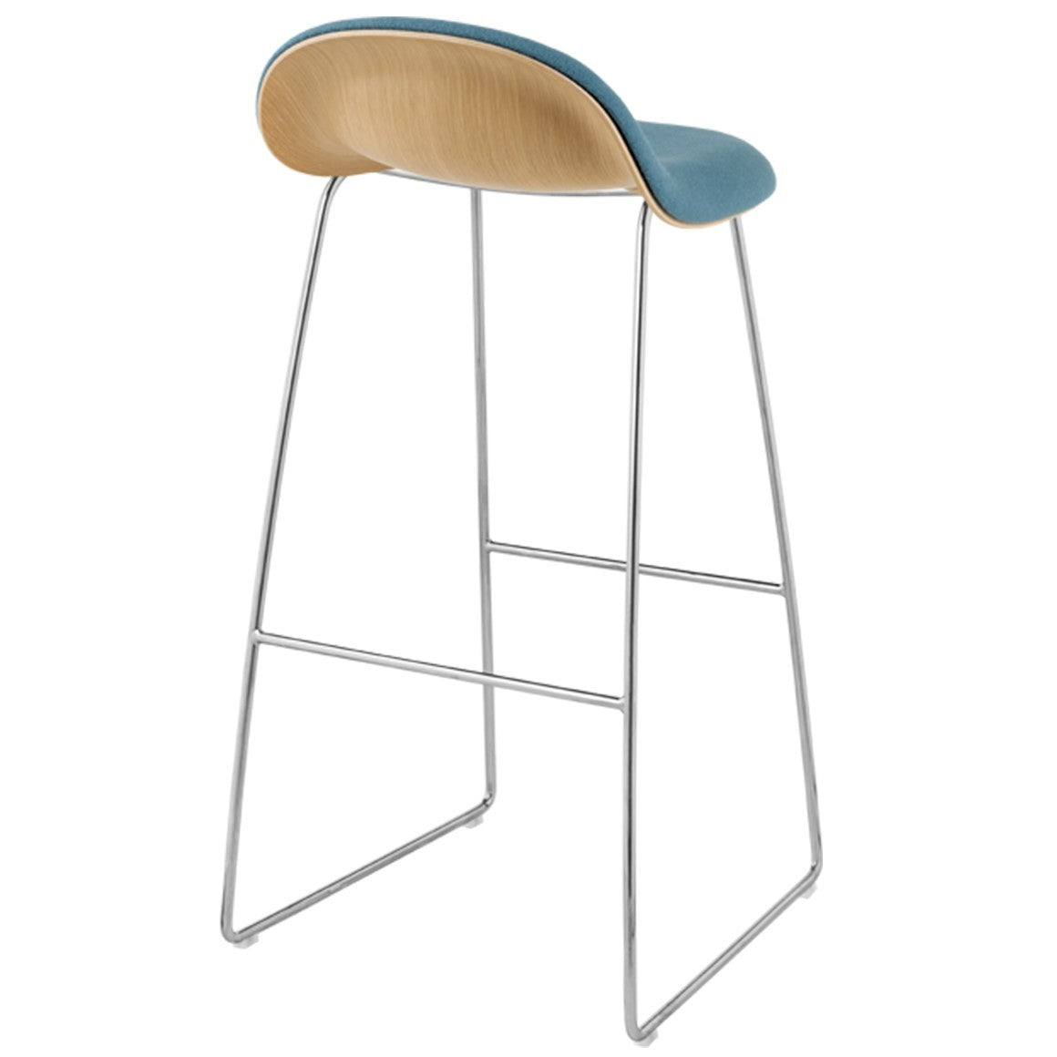 GUBI 3 STOOL-CHROME BASE - Eclectic Cool  - 12