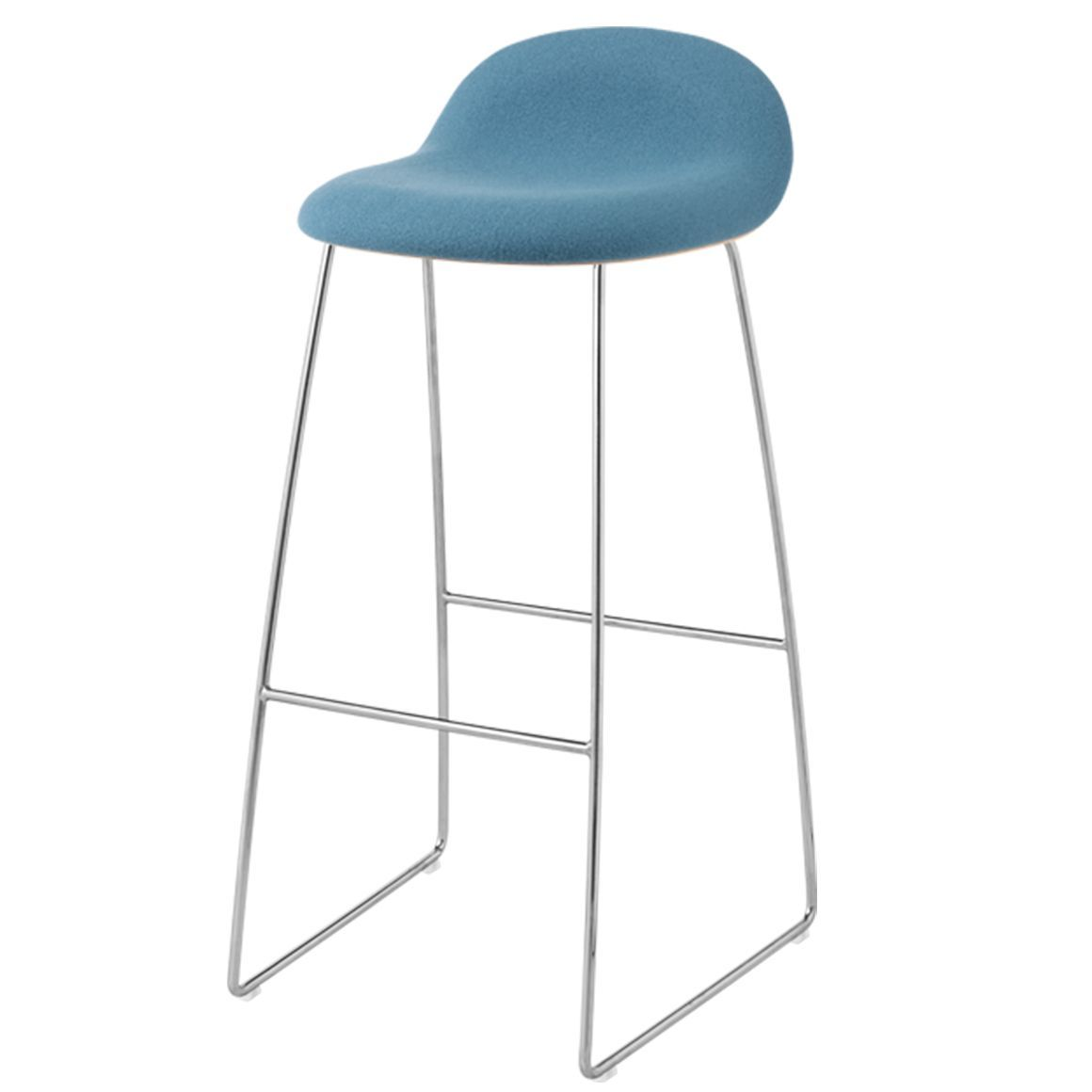GUBI 3 STOOL-CHROME BASE - Eclectic Cool  - 13