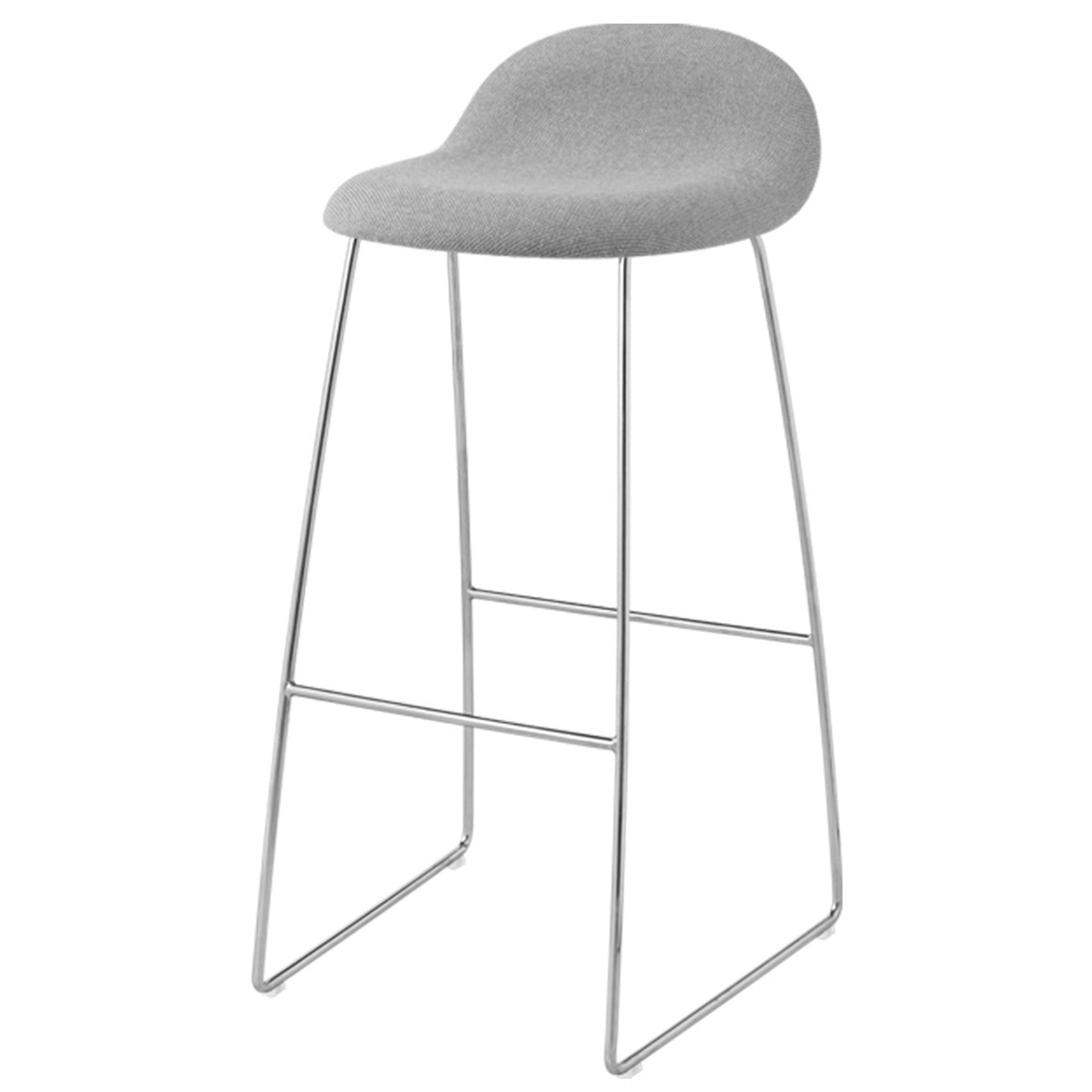 GUBI 3 STOOL-CHROME BASE - Eclectic Cool  - 15