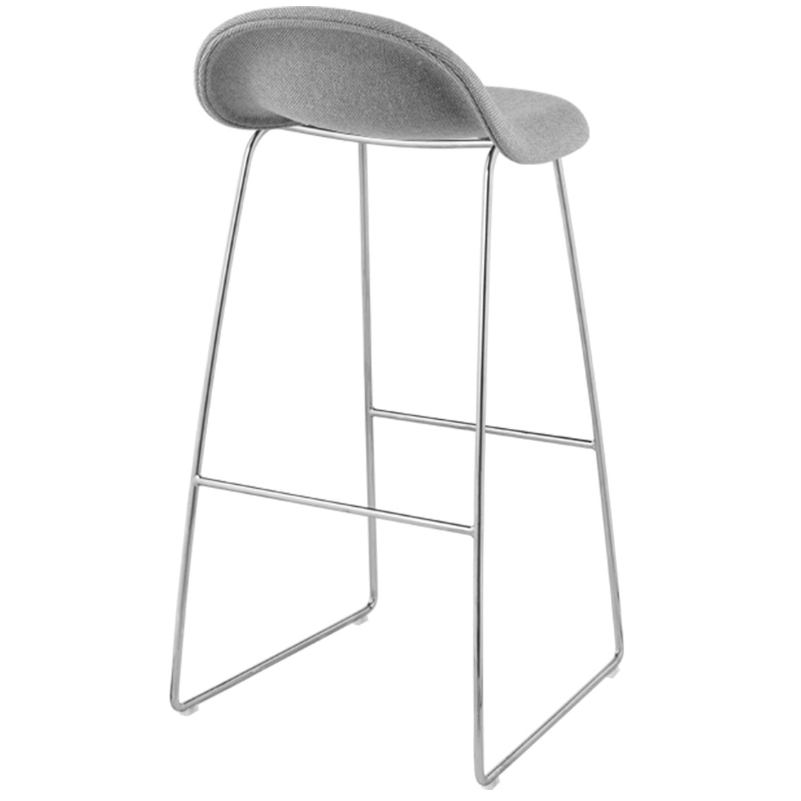 GUBI 3 STOOL-CHROME BASE - Eclectic Cool  - 16