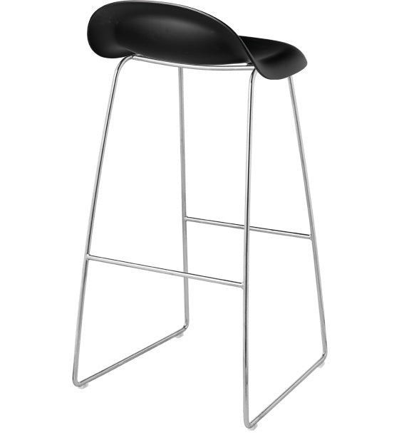 GUBI 3 STOOL-CHROME BASE - Eclectic Cool  - 2