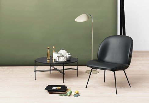GUBI BEETLE LOUNGE CHAIR - Eclectic Cool  - 2