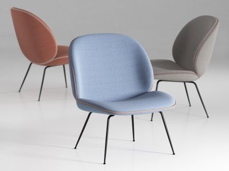 GUBI BEETLE LOUNGE CHAIR - Eclectic Cool  - 3