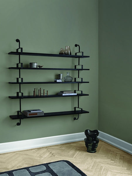 GUBI DEMON SHELF IN BLACK STAINED ASH - Eclectic Cool  - 4