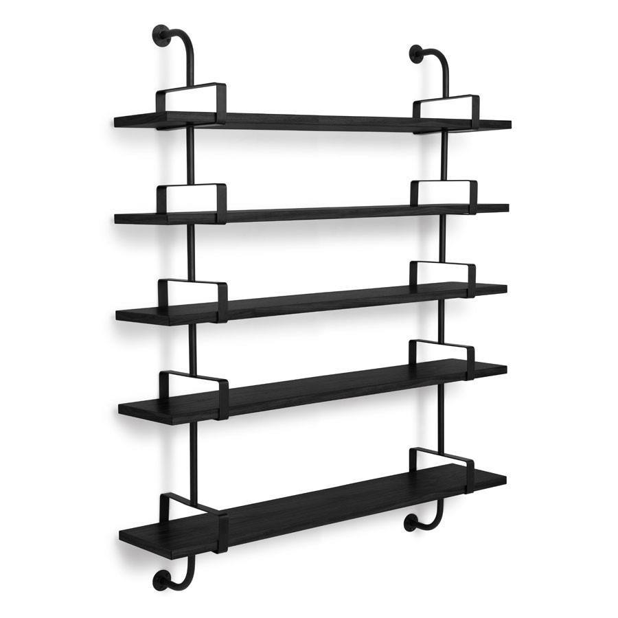 GUBI DEMON SHELF IN BLACK STAINED ASH - Eclectic Cool  - 2