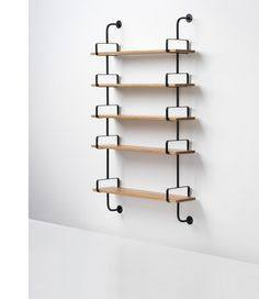 GUBI DEMON SHELF IN OAK - Eclectic Cool  - 3