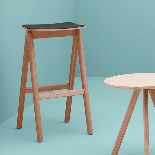 HAY COPENHAGUE BAR STOOL-FRONT UPHOLSTERY - Eclectic Cool  - 5