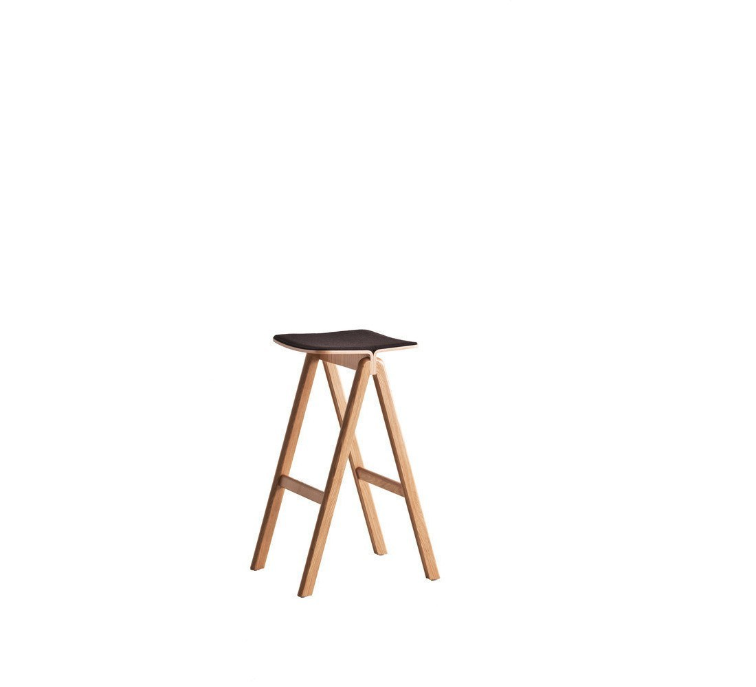 HAY COPENHAGUE BAR STOOL-FRONT UPHOLSTERY - Eclectic Cool  - 4