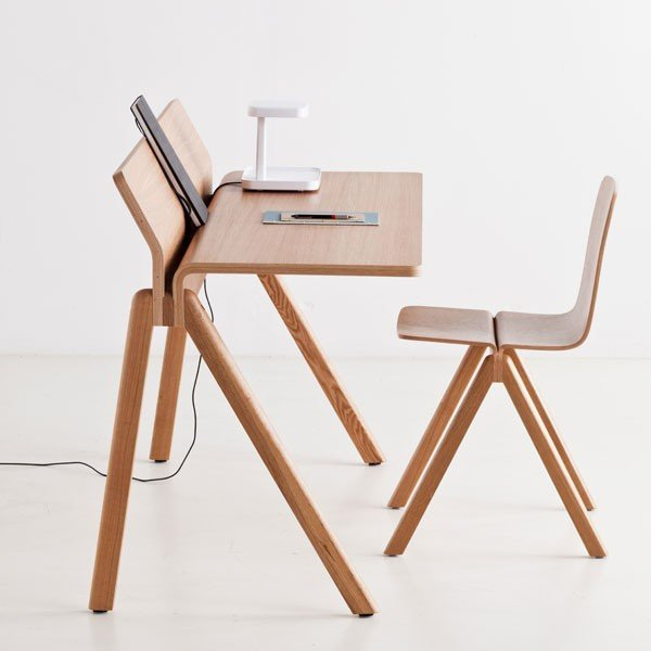 HAY COPENHAGUE MOULDED PLYWOOD DESK CPH190 - Eclectic Cool  - 3