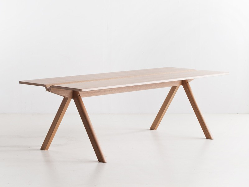 HAY COPENHAGUE PLYWOOD TABLE CPH110 - Eclectic Cool  - 1