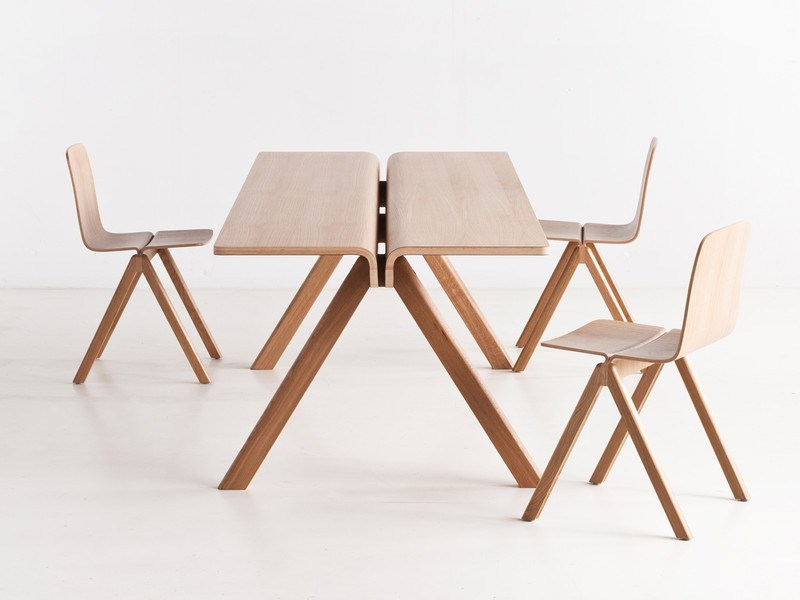 HAY COPENHAGUE PLYWOOD TABLE CPH110 - Eclectic Cool  - 3