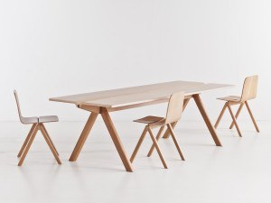 HAY COPENHAGUE PLYWOOD TABLE CPH110 - Eclectic Cool  - 4