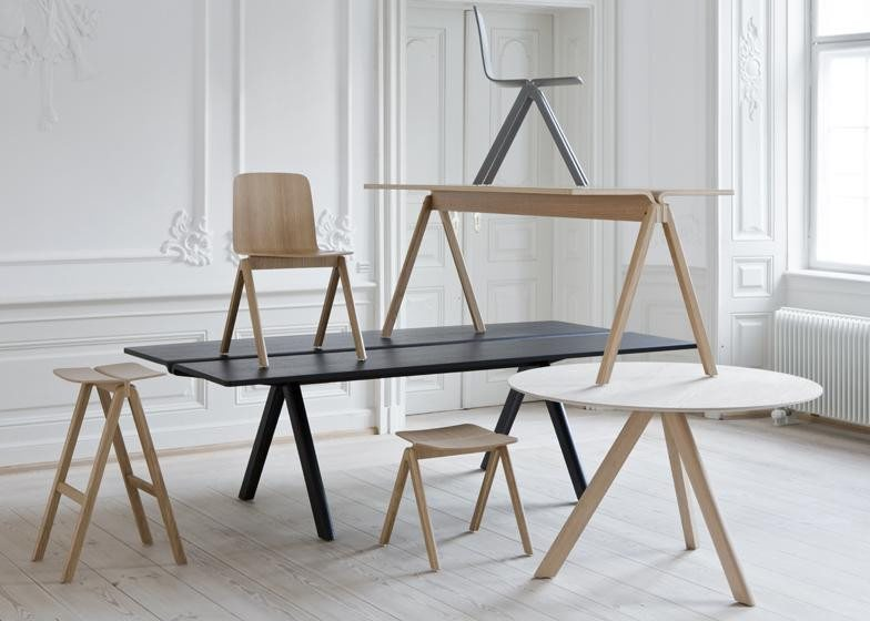 HAY COPENHAGUE PLYWOOD TABLE CPH110 - Eclectic Cool  - 5