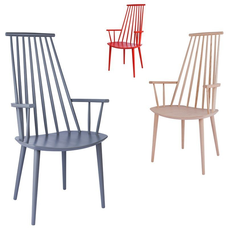 Forskjellige HAY J110 CHAIR - Eclectic Cool SN-95