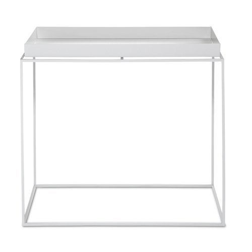 HAY TRAY TABLE - WHITE - RECTANGULAR - Eclectic Cool  - 3