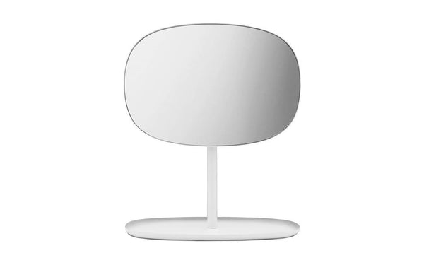 Normann Copenhagen Flip Mirror in White - Eclectic Cool