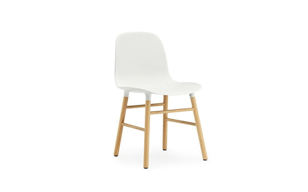 NORMANN COPENHAGEN FORM CHAIR-OAK BASE - Eclectic Cool  - 1