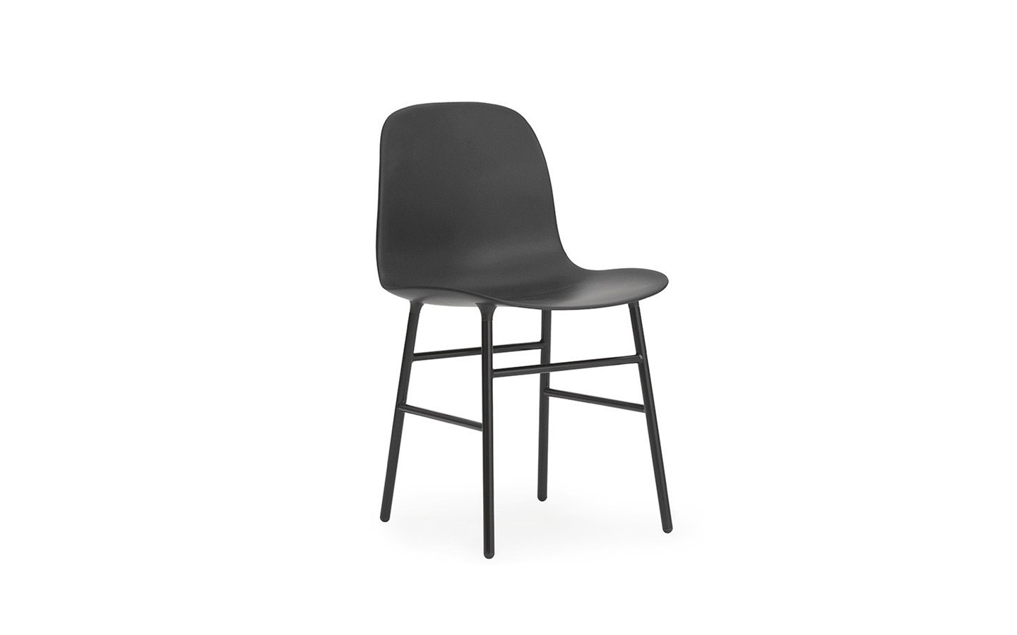 NORMANN COPENHAGEN FORM CHAIR-STEEL BASE - Eclectic Cool  - 1