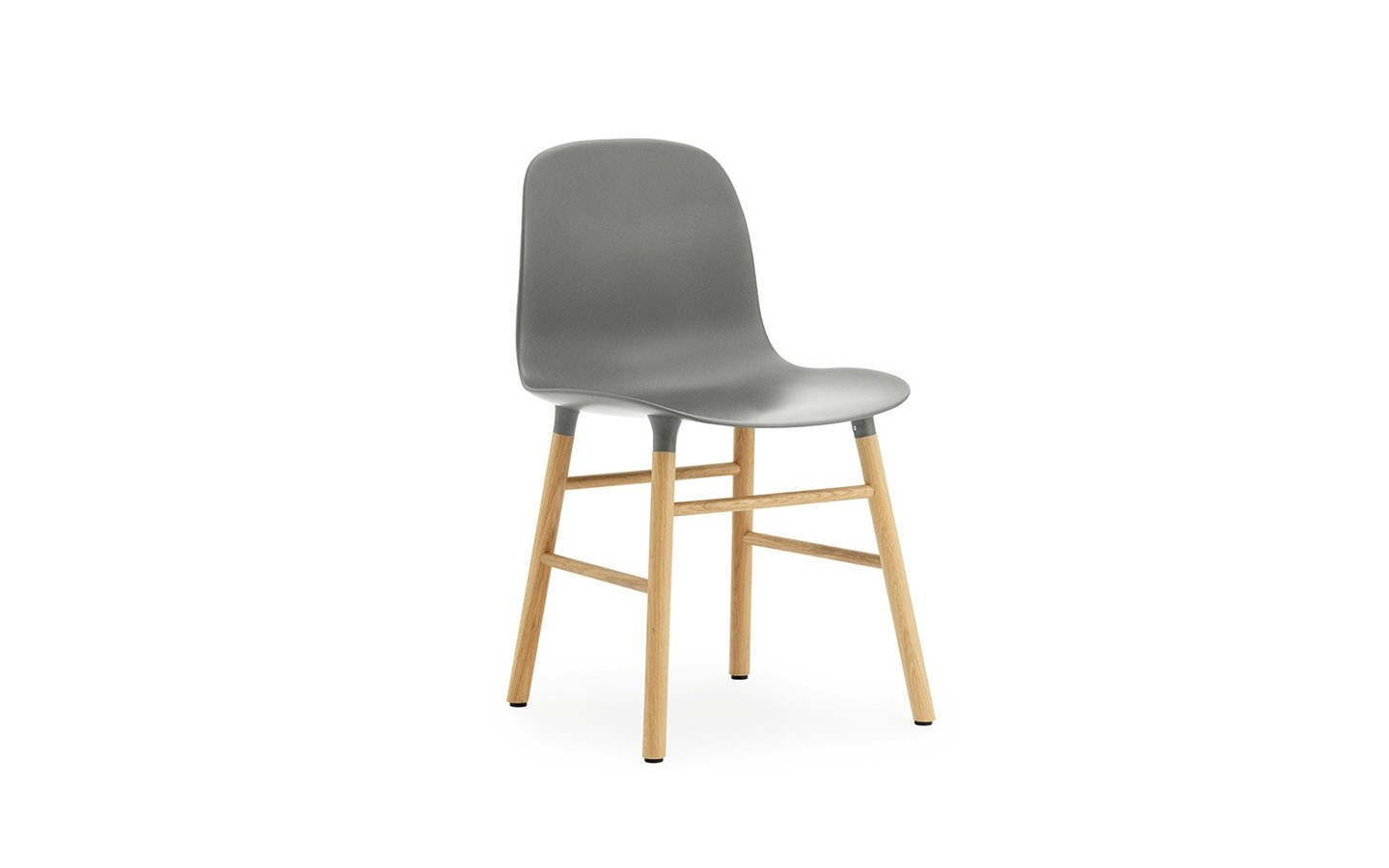 NORMANN COPENHAGEN FORM CHAIR-STEEL BASE - Eclectic Cool  - 5