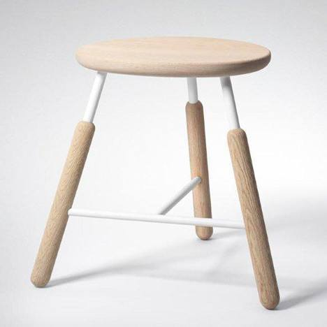 &TRADITION RAFT STOOL - Eclectic Cool  - 2