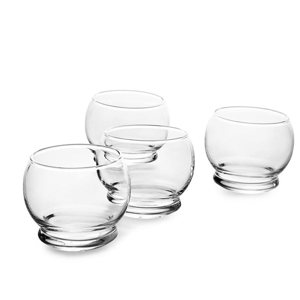Normann Copenhagen Rocking Glasses - 4 pcs - Eclectic Cool  - 1