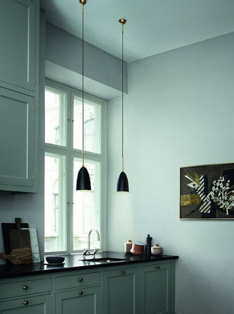 GUBI GRASSHOPPER PENDANT LAMP - ANTHRACITE GREY - Eclectic Cool  - 2