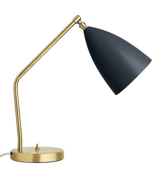 GUBI GRASSHOPPER TASK TABLE LAMP - JET BLACK - Eclectic Cool  - 1