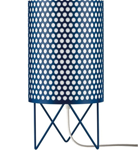 GUBI PEDRERA ABC TABLE LAMP IN BLUE - Eclectic Cool
