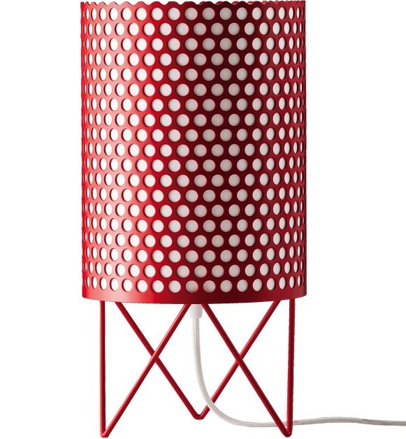 GUBI PEDRERA ABC TABLE LAMP IN RED - Eclectic Cool  - 1