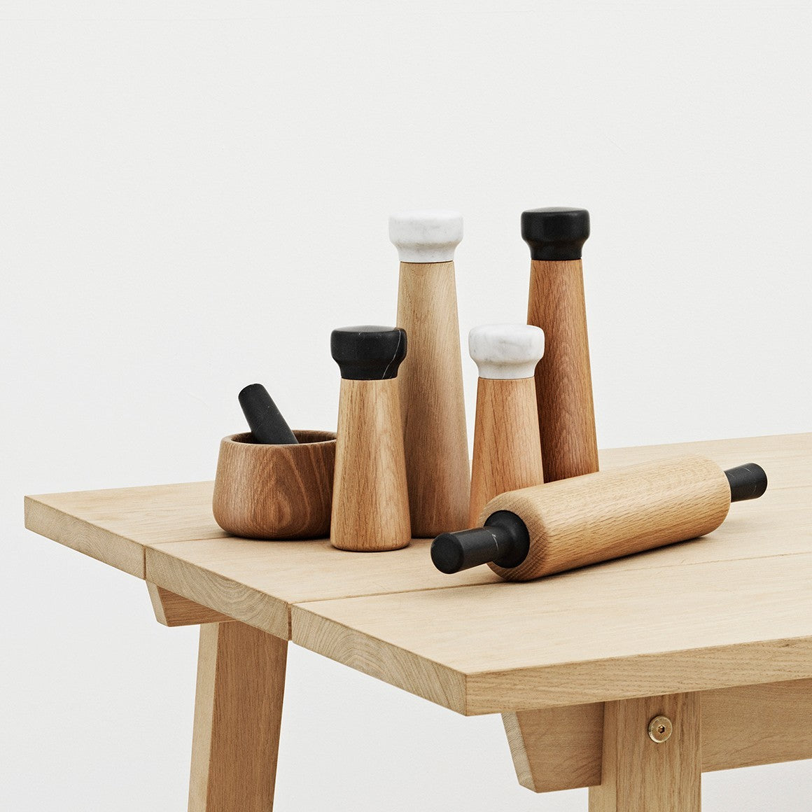 Normann Copenhagen Craft Mill in Oak - Eclectic Cool  - 8