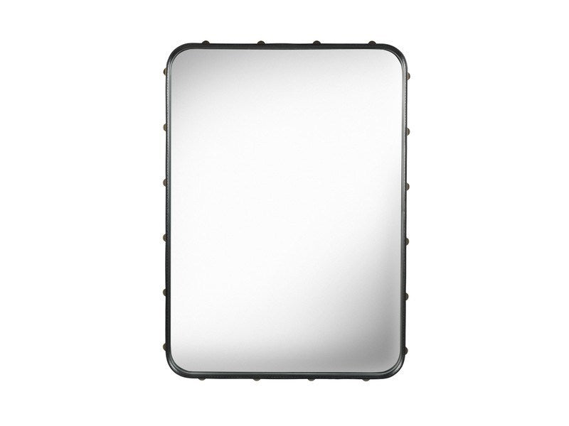 GUBI ADNET RECTANGULAR MIRROR IN BLACK LEATHER 180CM x 70CM - Eclectic Cool  - 8