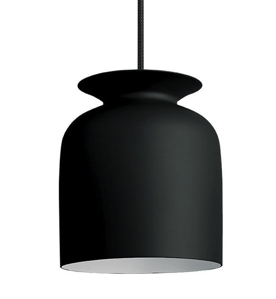 GUBI RONDE PENDANT IN CHARCOAL BLACK-SMALL - Eclectic Cool