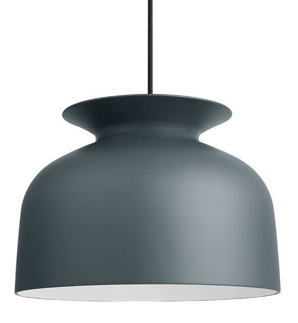 GUBI RONDE PENDANT IN MATT PIGEON GREY-LARGE - Eclectic Cool