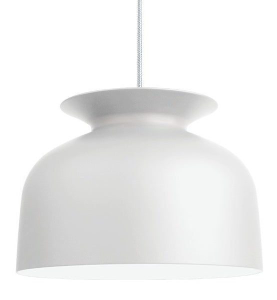 GUBI RONDE PENDANT IN MATT WHITE-LARGE - Eclectic Cool