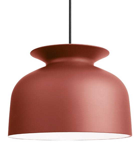 GUBI RONDE PENDANT IN RUSTY RED-LARGE - Eclectic Cool  - 1
