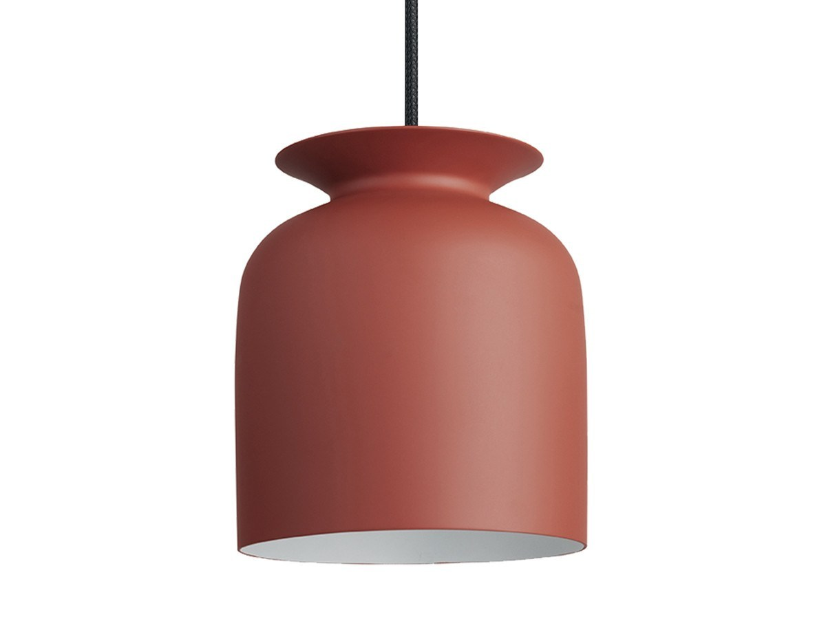 GUBI RONDE PENDANT IN RUSTY RED-SMALL - Eclectic Cool  - 1
