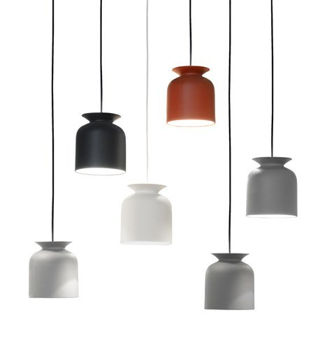 GUBI RONDE PENDANT IN RUSTY RED-SMALL - Eclectic Cool  - 2