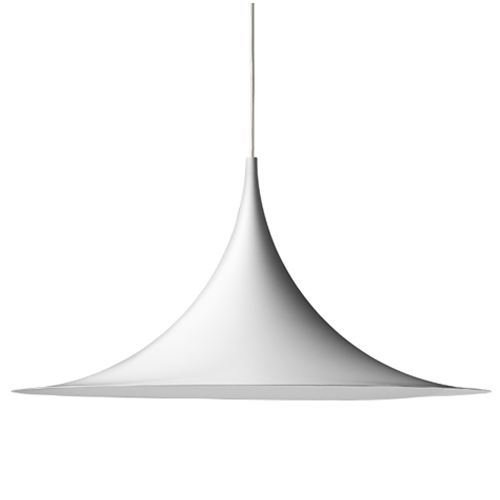GUBI SEMI PENDANT LAMP MATT WHITE - MEDIUM Ø47 - Eclectic Cool  - 1