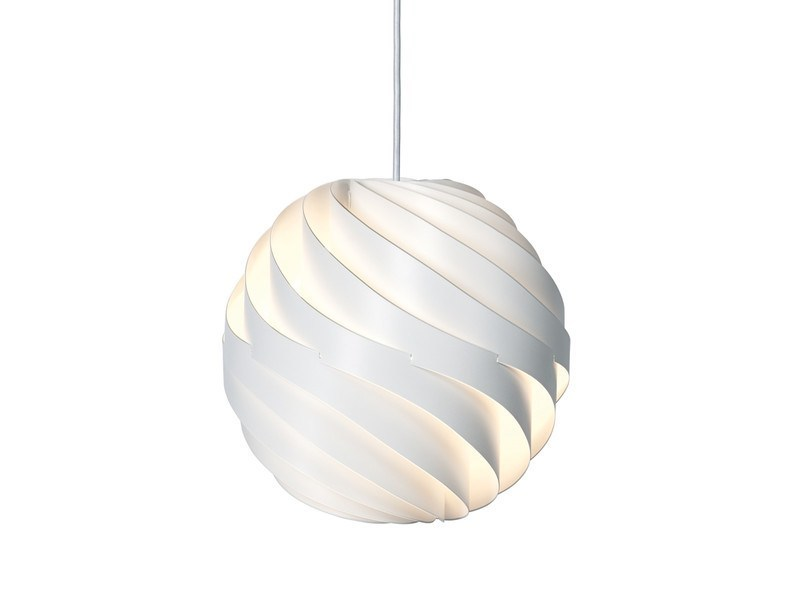 Gubi Turbo Pendant M Matt White Ø62 - Eclectic Cool  - 1