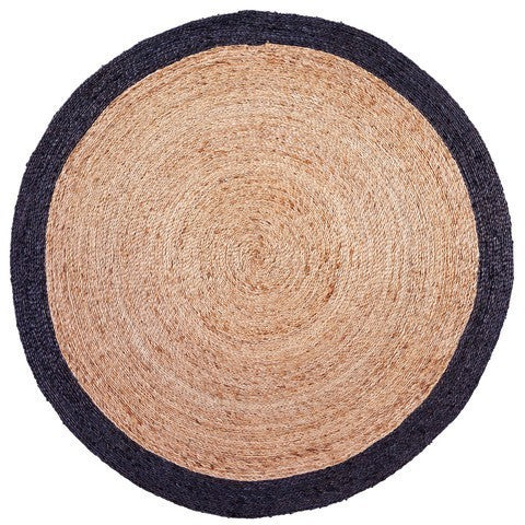 ARMADILLO BRAID WEAVE - PINWHEEL RUG - Eclectic Cool  - 1