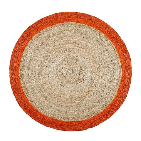 ARMADILLO BRAID WEAVE - PINWHEEL RUG - Eclectic Cool  - 3