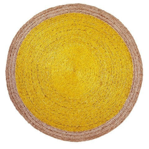 ARMADILLO BRAID WEAVE - PINWHEEL RUG - Eclectic Cool  - 6