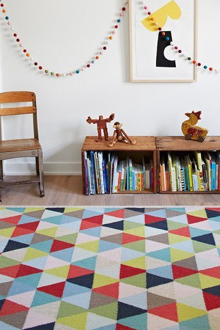 ARMADILLO CIRCUS RUG - Eclectic Cool  - 1